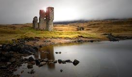 Σκωτσέζικο κάστρο Στοκ φωτογραφίες με δικαίωμα ελεύθερης χρήσης