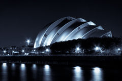 Σκωτσέζικο κέντρο έκθεσης & διαλέξεων στοκ εικόνα