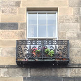 Σκωτσέζικο παράθυρο Στοκ φωτογραφία με δικαίωμα ελεύθερης χρήσης