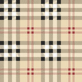 Σκωτσέζικο σχέδιο υφάσματος Στοκ φωτογραφίες με δικαίωμα ελεύθερης χρήσης
