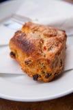 Σκωτσέζικο scone με τις σταφίδες Στοκ φωτογραφία με δικαίωμα ελεύθερης χρήσης