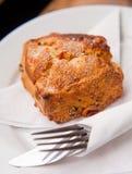 Σκωτσέζικο scone με τις σταφίδες Στοκ Φωτογραφία