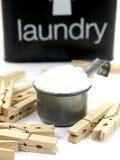 σκόνη πλυντηρίων στοκ φωτογραφία