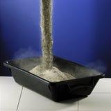 σκόνη τσιμέντου Στοκ Φωτογραφία