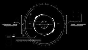 Σκόπευτρο υψηλής τεχνολογίας ελεύθερη απεικόνιση δικαιώματος