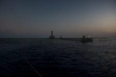 Σκόπελος Daedalus στη Ερυθρά Θάλασσα στοκ φωτογραφία με δικαίωμα ελεύθερης χρήσης