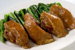 σκόρδο κοτόπουλου στοκ εικόνα
