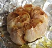 σκόρδο που ψήνεται Στοκ Εικόνα