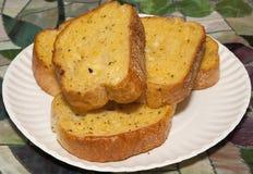 σκόρδο ψωμιού Στοκ Εικόνες