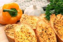 σκόρδο ψωμιού Στοκ Φωτογραφία