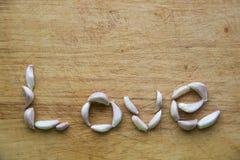 Σκόρδο για την αγάπη στοκ εικόνα