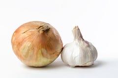 Σκόρδο και κρεμμύδι παλαιά Στοκ Εικόνα