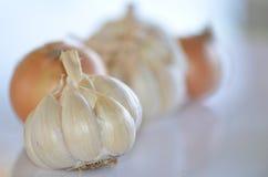 Σκόρδο και κρεμμύδι Στοκ Εικόνα
