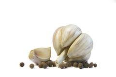 Σκόρδο με το καρύκευμα Στοκ Εικόνα