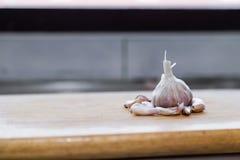 Σκόρδο στο φραγμό στοκ εικόνες με δικαίωμα ελεύθερης χρήσης