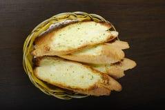 σκόρδο ψωμιού Στοκ φωτογραφίες με δικαίωμα ελεύθερης χρήσης