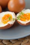 Σκληρά βρασμένα αυγά Στοκ φωτογραφίες με δικαίωμα ελεύθερης χρήσης