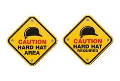 Σκληρά σημάδια καπέλων - τετραγωνικά σημάδια απεικόνιση αποθεμάτων