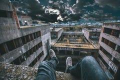 Σκληρά σπασμένος Στοκ φωτογραφία με δικαίωμα ελεύθερης χρήσης