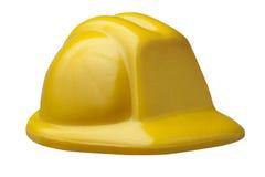 Σκληρή ασφάλεια προστασίας καπέλων που απομονώνεται στοκ εικόνα