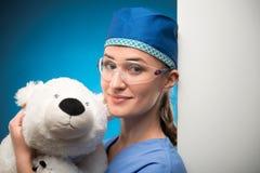 Σκληρή δουλειά των γιατρών Στοκ Εικόνα
