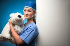 Σκληρή δουλειά των γιατρών Στοκ Φωτογραφίες