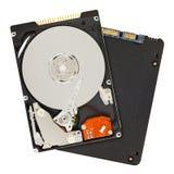Σκληροί δίσκοι SSD και HDD Στοκ Φωτογραφίες