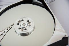 Σκληρός δίσκος και βιβλίο Στοκ Φωτογραφία