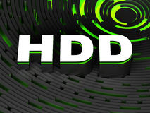 σκληρό hdd μονάδας δίσκου Στοκ εικόνα με δικαίωμα ελεύθερης χρήσης