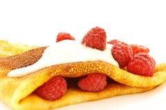 σμέουρα τηγανιτών Στοκ Εικόνα