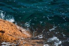 Σμαραγδένιο κύμα θάλασσας Στοκ Εικόνες