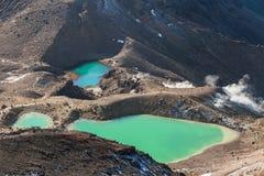 σμαραγδένιο tongariro Ζηλανδία πάρκων λιμνών εθνικό νέο Στοκ εικόνες με δικαίωμα ελεύθερης χρήσης