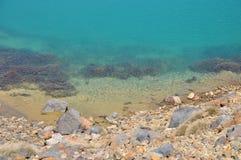 Σμαραγδένια λίμνη, βόρειο κύκλωμα Tongariro, αλπικό πέρασμα Στοκ εικόνα με δικαίωμα ελεύθερης χρήσης