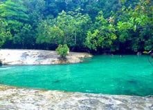 Σμαραγδένια λίμνη, Krabi, Ταϊλάνδη Στοκ εικόνες με δικαίωμα ελεύθερης χρήσης