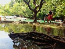 Σμαραγδένια λίμνη Sra Morakot Krabi Στοκ εικόνες με δικαίωμα ελεύθερης χρήσης
