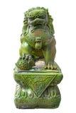 Σμαραγδένια αγάλματα λιονταριών στοκ φωτογραφίες