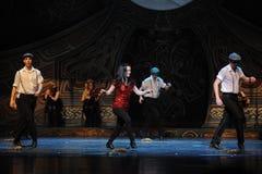 Σμαραγδένιος εορτασμός νησιών-Ο ιρλανδικός εθνικός χορός βρυσών χορού Στοκ εικόνα με δικαίωμα ελεύθερης χρήσης