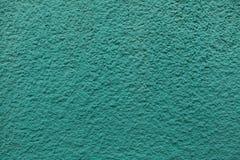 Σμαραγδένιος πράσινος χρωματισμένος τοίχος στόκων Στοκ Εικόνες