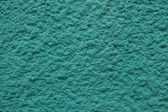 Σμαραγδένιος πράσινος χρωματισμένος τοίχος στόκων Στοκ εικόνες με δικαίωμα ελεύθερης χρήσης