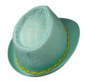 σμαραγδένιο καπέλο Στοκ Εικόνες