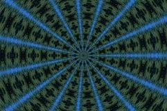 Σμαραγδένιο καλειδοσκόπιο Στοκ εικόνα με δικαίωμα ελεύθερης χρήσης