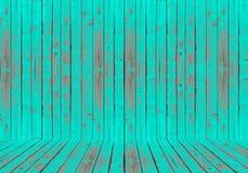 Σμαραγδένιο πράσινο ξύλινο υπόβαθρο σύστασης Στοκ Φωτογραφίες