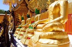 Σμαραγδένιο Buddhas Στοκ Φωτογραφίες