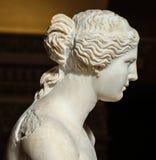 Σμιλεύστε την Αφροδίτη de Milo στο μουσείο του Λούβρου, Παρίσι, Γαλλία Στοκ Φωτογραφία