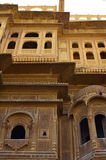 Σμιλευμένο Ornately haveli, Jaisalmer, Rajasthan,  Στοκ Φωτογραφίες