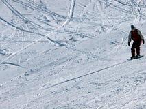 σνόουμπορντ Στοκ φωτογραφίες με δικαίωμα ελεύθερης χρήσης