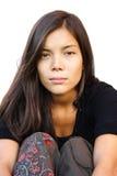 Σοβαρή γυναίκα Στοκ Εικόνες