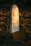 σοβαρή ταφόπετρα Στοκ Εικόνα