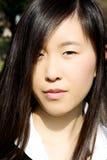 Σοβαρή λυπημένη κινεζική γυναίκα Στοκ φωτογραφία με δικαίωμα ελεύθερης χρήσης