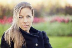 Σοβαρή ώριμη γυναίκα Στοκ Φωτογραφίες